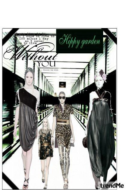 modna revija- Fashion set