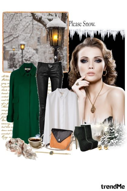 Winter without snow...- Fashion set