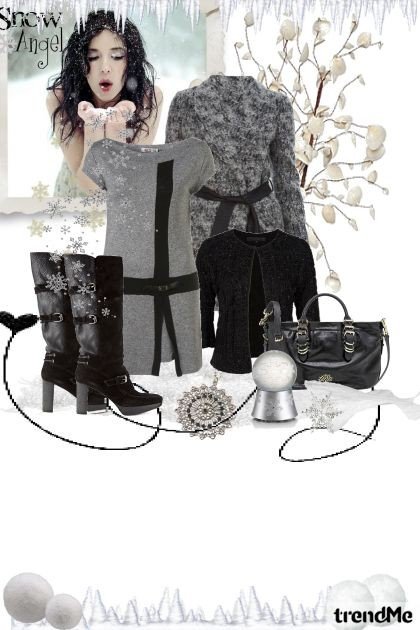 Black and grey- Fashion set
