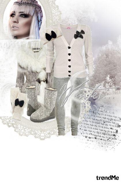 Spremna za zimu...- Fashion set