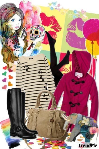 Šareno, volim te šareno :)- Fashion set
