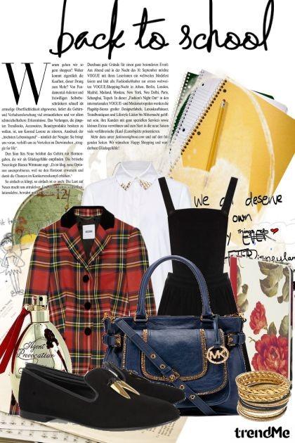 back to school!- Fashion set