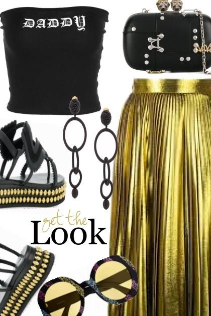 Edgy Glamour`- Fashion set