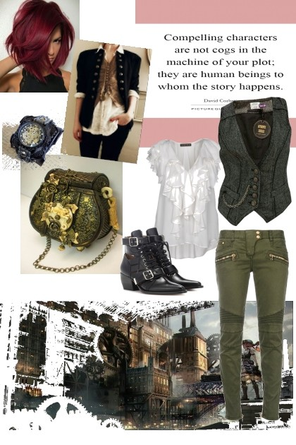 Steampunk Friday- Fashion set