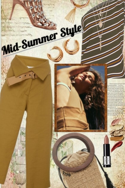 Mid-Summer Style- Fashion set