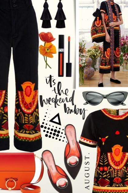 70's Hendrix Style- Fashion set