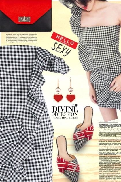 ❤️Lovely in gingham- Fashion set
