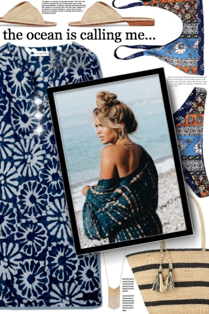 the ocean is calling- Fashion set