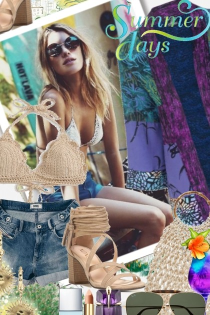 Summer Days- Fashion set