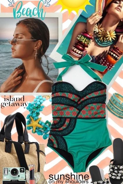 Island Getaway- combinação de moda