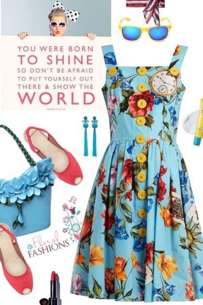Floral fashions- Fashion set