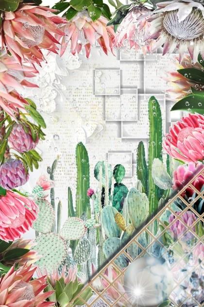 The world of flowers- Combinaciónde moda