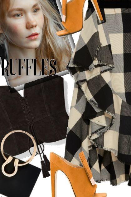 Ruffles- Fashion set