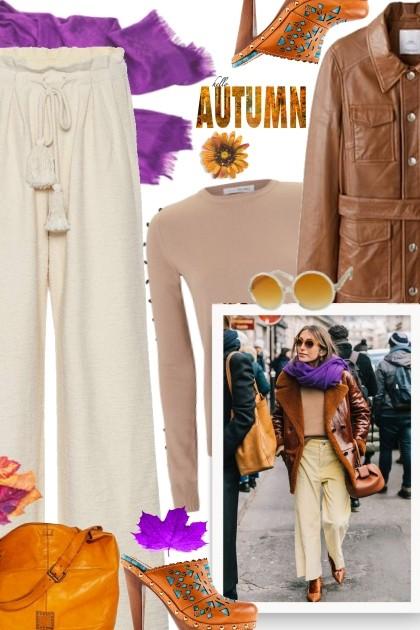 PARIS FALL 18/19 STREET STYLE- Модное сочетание