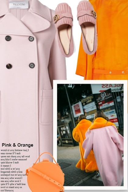 Pink & Orange, Fall 2018- Modekombination