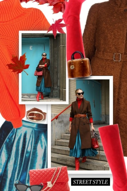 fall color combinations - Fashion set