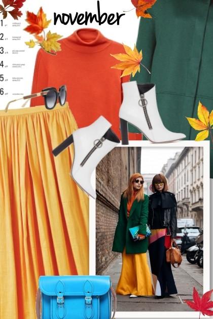 Fall 2018 Street Style Trend Report- Fashion set