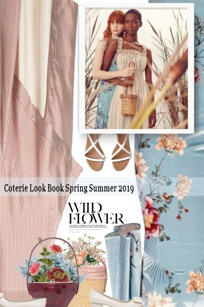 Coterie Look Book Spring Summer 2019- Fashion set