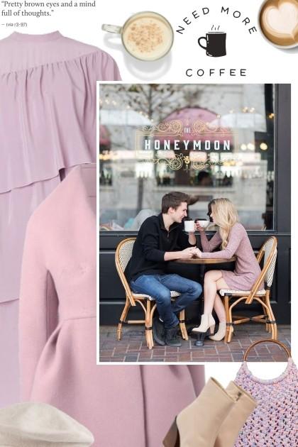 romantic coffee shop - Fashion set