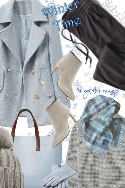 Blue Burberry Plaid- Fashion set