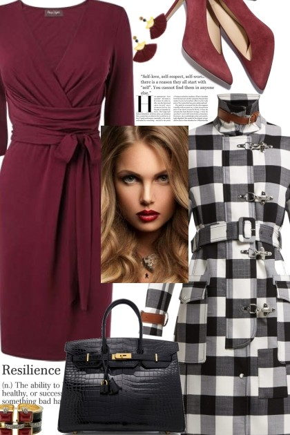 Wrap Dress- Fashion set