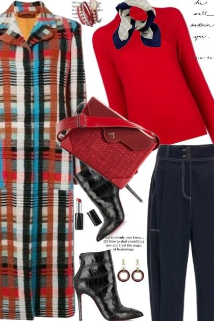 Tweed Bag- Fashion set