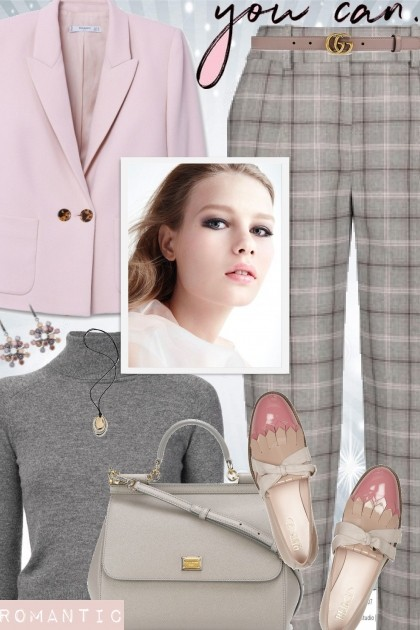Soft Plaid- Fashion set