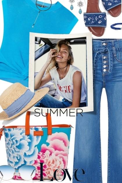Simple Summer Vibes- Modna kombinacija