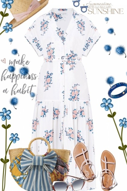 Sweet Summer Vibes- Fashion set