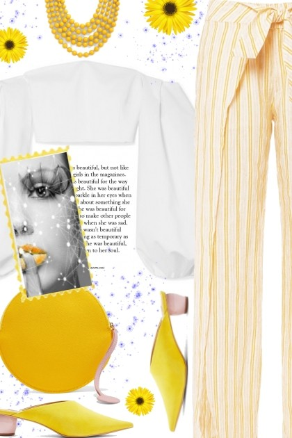 Yellow day- Fashion set