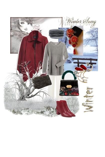 Hello, winter!- Fashion set