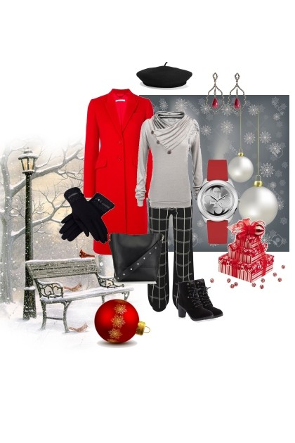 Shades of winter - II- Fashion set