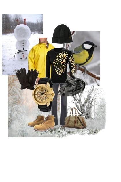Winter sunshine- Fashion set