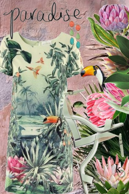 In the Tropics . . . Paradise Found !! - Fashion set