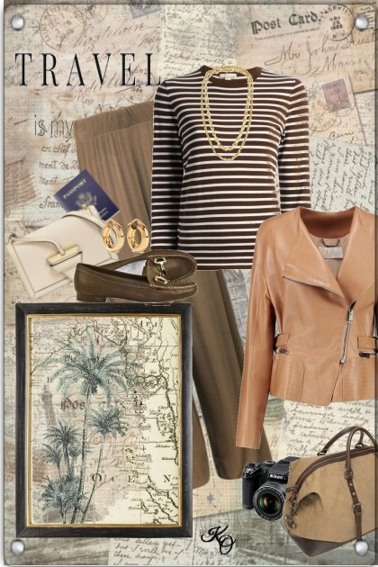 I Feel Like Traveling !! - Fashion set