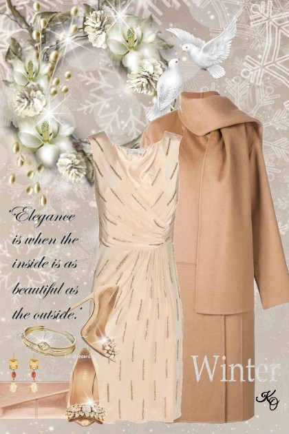 An Elegant Winter - Modna kombinacija