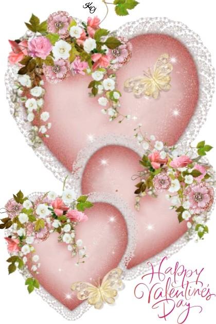 Happy Valentine's Day !!- Modna kombinacija