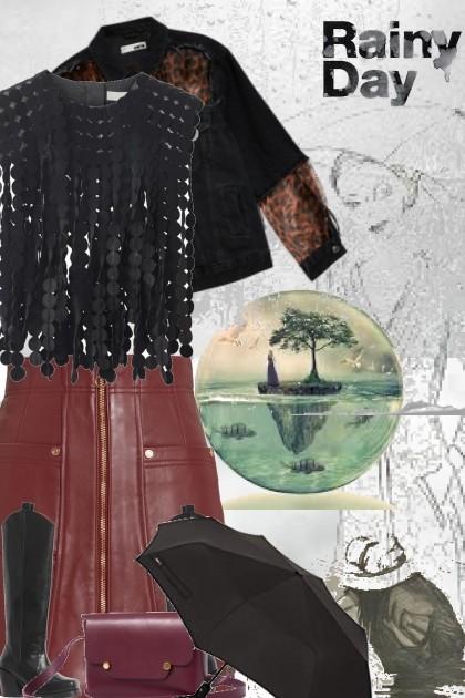 Postcards from the rain 2- Fashion set