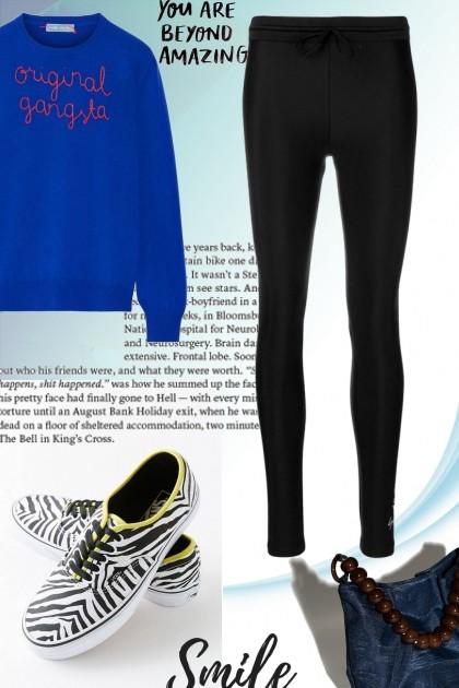 Simple, sporty- Fashion set