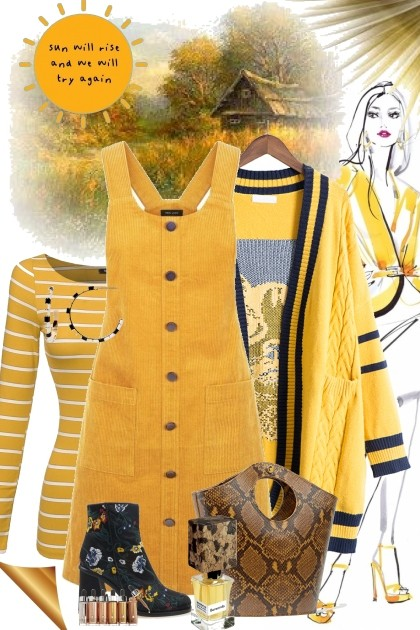 Mellow Yellow 4- Fashion set