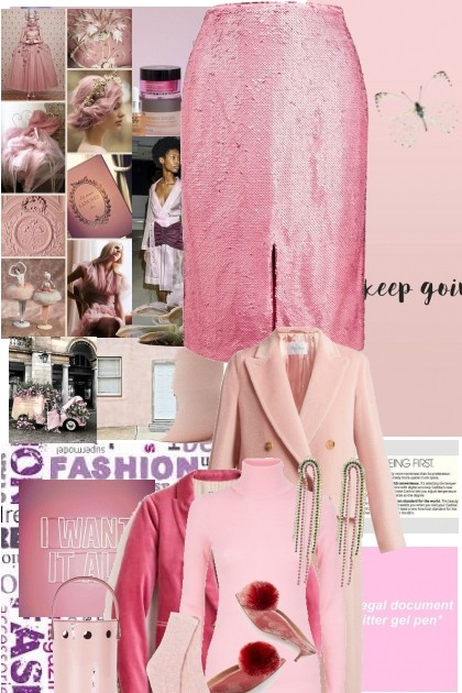 In the pink 10- Fashion set