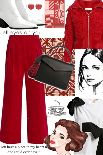 Red Alert 4- Fashion set