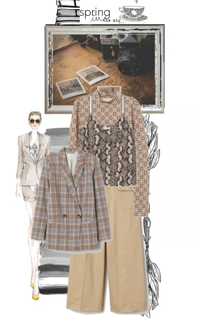 Beige need not be boring- Fashion set