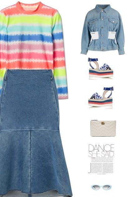 dances like the wind- Fashion set