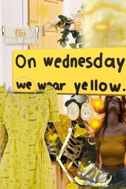 Yellow Wednesday- Fashion set