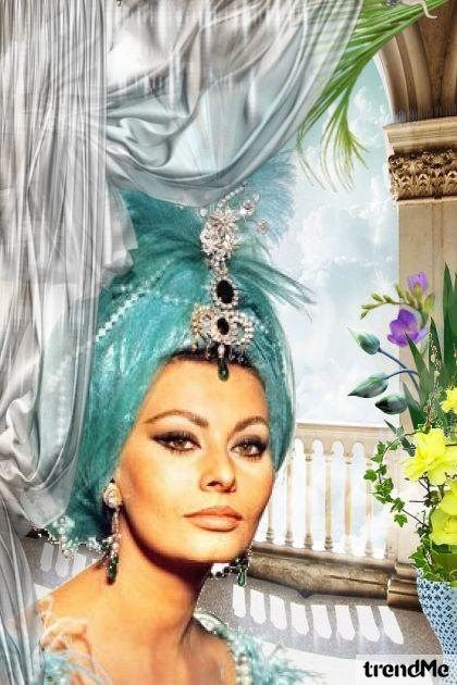 Sophia as Scheherazade- Fashion set