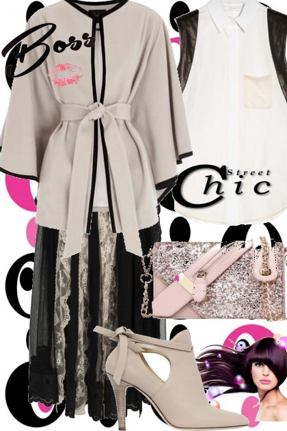 Taupe is Tops!- Fashion set