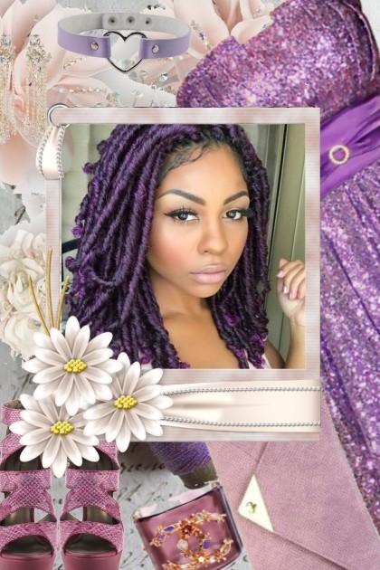 :Purple People Pleaser- Модное сочетание