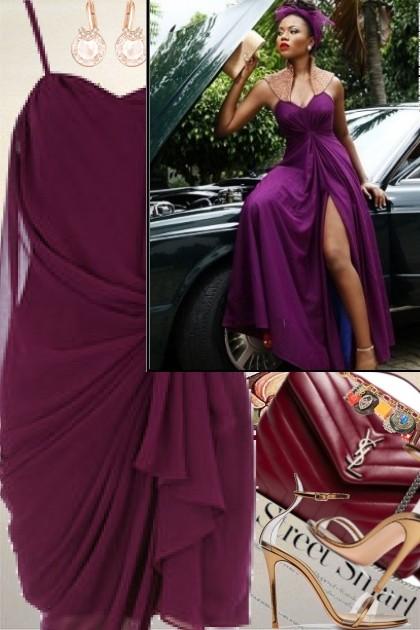 Royal Purple- Fashion set