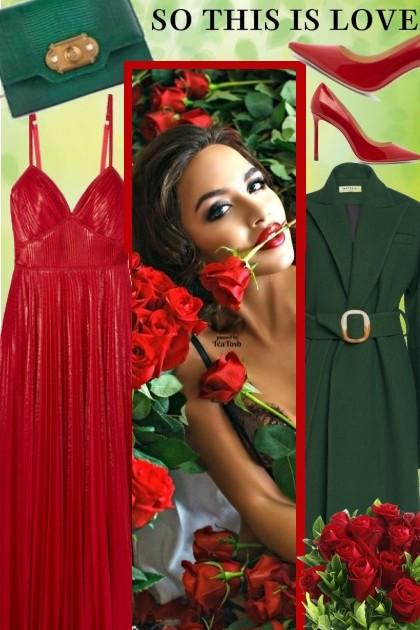 Roses for you ...- Modna kombinacija